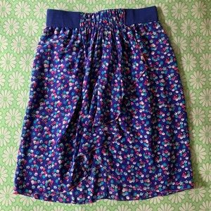 Rebecca Taylor floral waterfall skirt